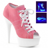 Scarpe Pleaser - Delight- 600SK-01/PNCA/NW